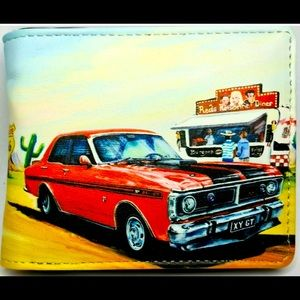 FORD GTHO PHASE III MENS WALLET WITH STYLE